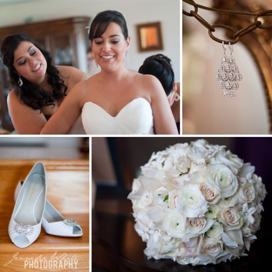 Wedding at the Century House Acushnet by Jennifer White Photography
