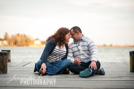 Cape Cod engagement session by Jennifer White Photography