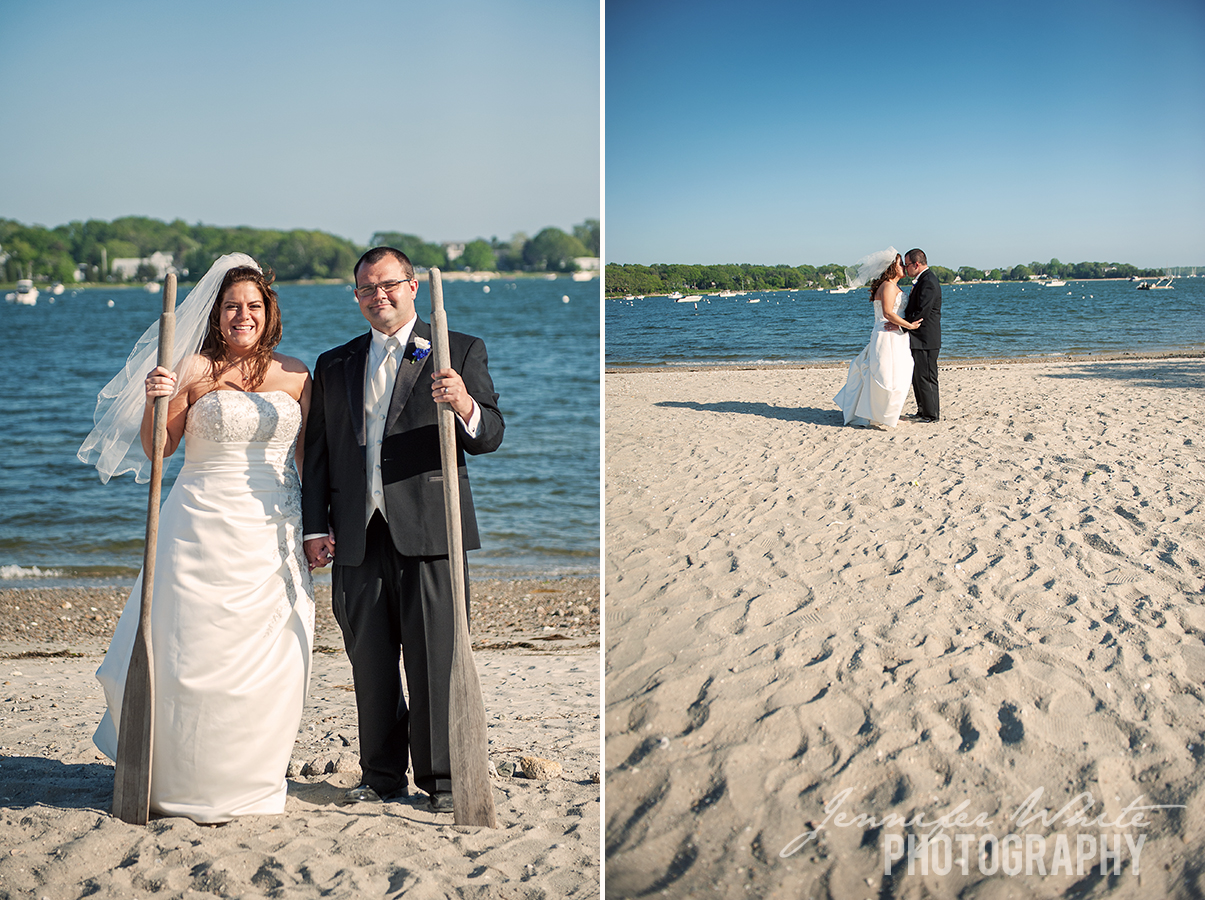Kerry & Duncan beach wedding cape cod