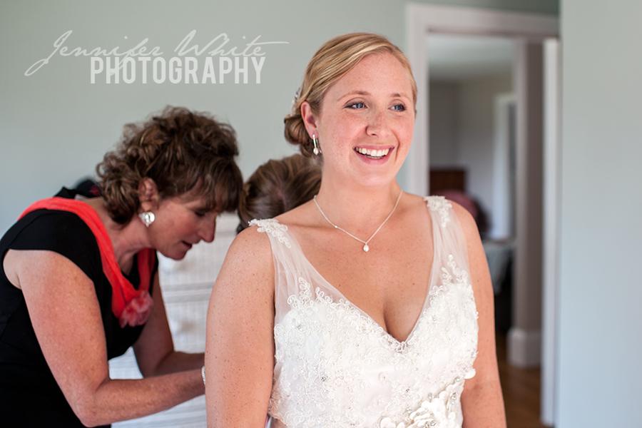 Meredith & Dan wedding at the Boathouse Restaurant in Tiverton Rhode Island