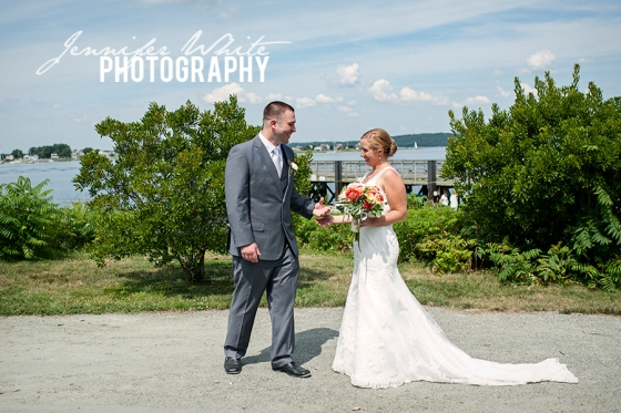Meredith & Dan wedding at the Boathouse Restaurant in Tiverton Rhode Island