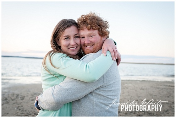 Orleans Beach Engagement Session by Jennifer White Photography