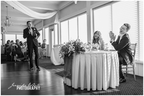 Hawthorne Country Club wedding by Jennifer White Photography