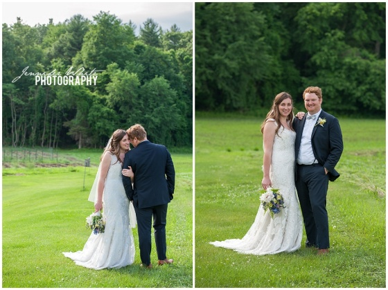 Friendly Crossways Retreat Center wedding in Harvard Massachusetts by Jennifer White Photography