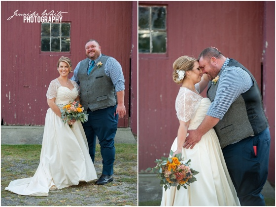 Chamberlain Farm New England wedding ©2014 Jennifer White Photography